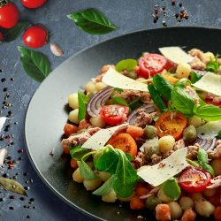 Vegetable Salad Tomatoes Spinach