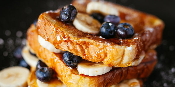 French Toast at Jane's Cafe Mission Valley