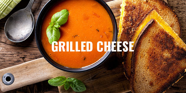 Grilled Cheese Sandwiches at Jane's Cafe Mission Valley