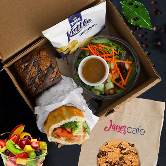 Individual Lunch Box Corporate Catering