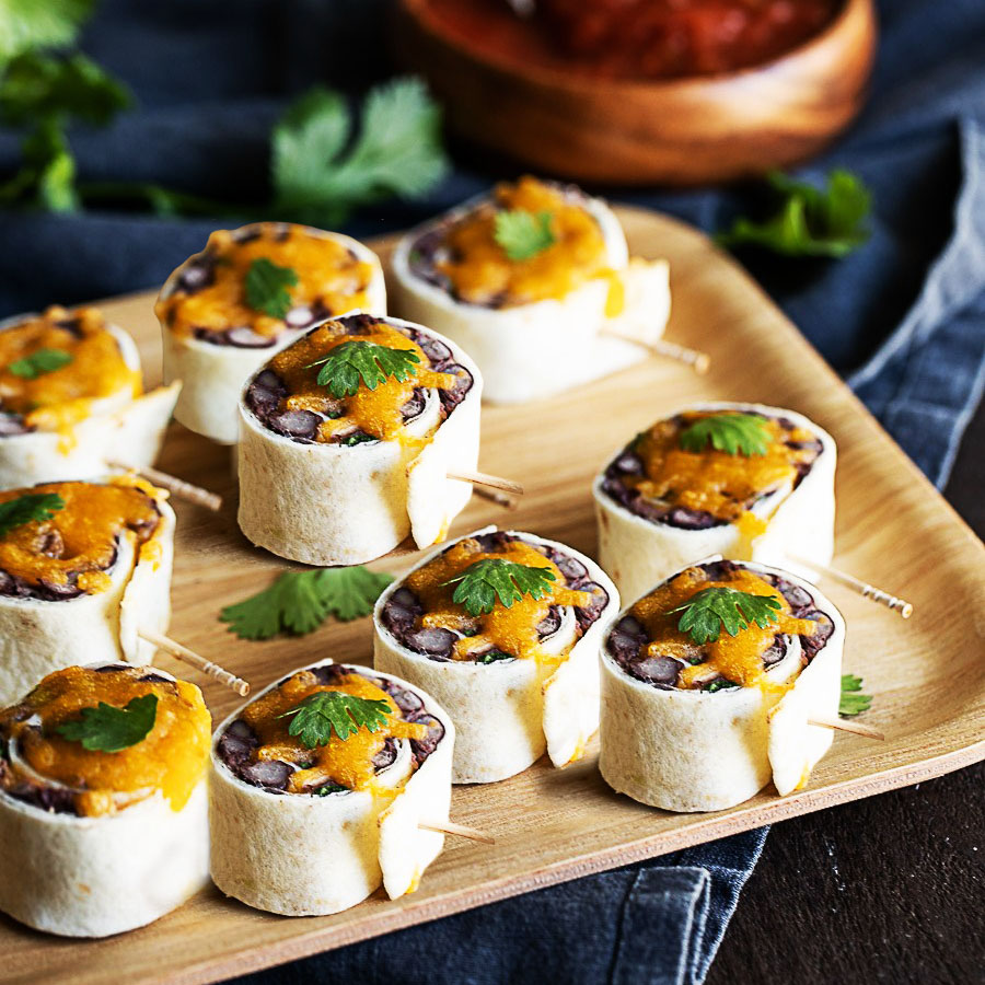 Tortilla Pinwheels Corporate Catering Jane's Cafe