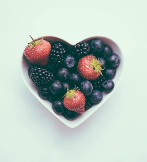 Berries Summer Fruits Jane's Cafe