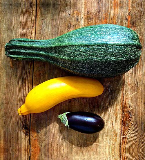 Delicious Seasonal Vegetables Squash
