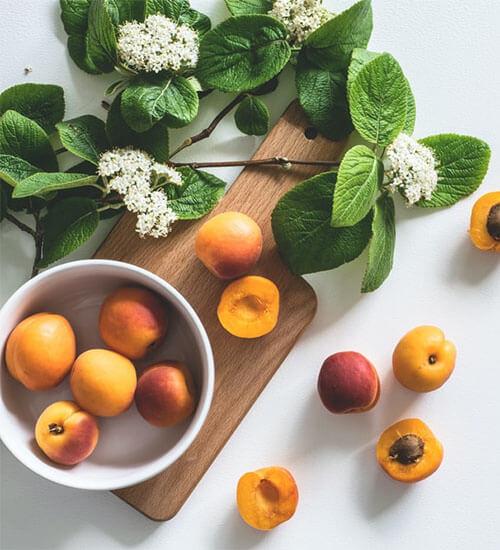 Stone Summer Fruits in Season