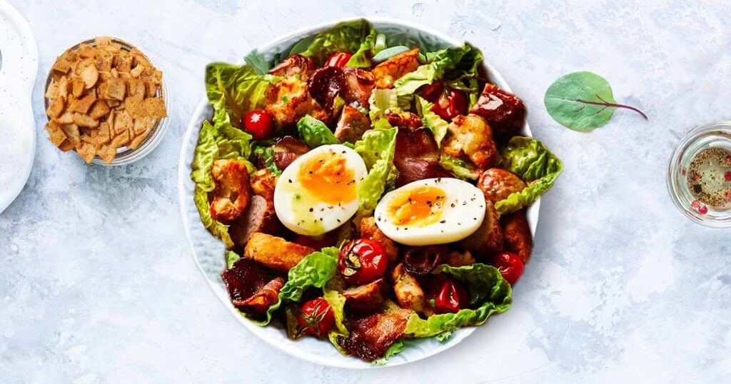 All Day Breakfast Salad